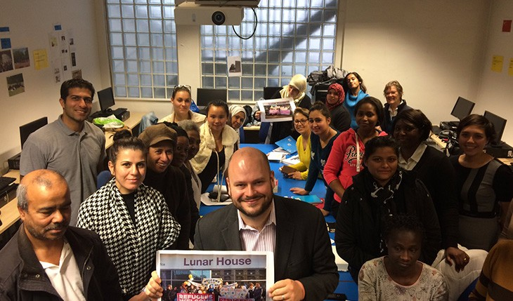 Mayor of Hackney visits ELATT