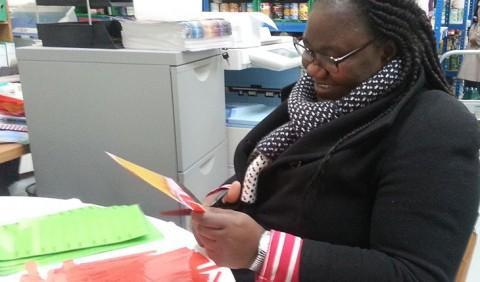 Volunteering at Hackney Foodbank