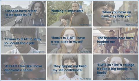 #ELATTstories is live!